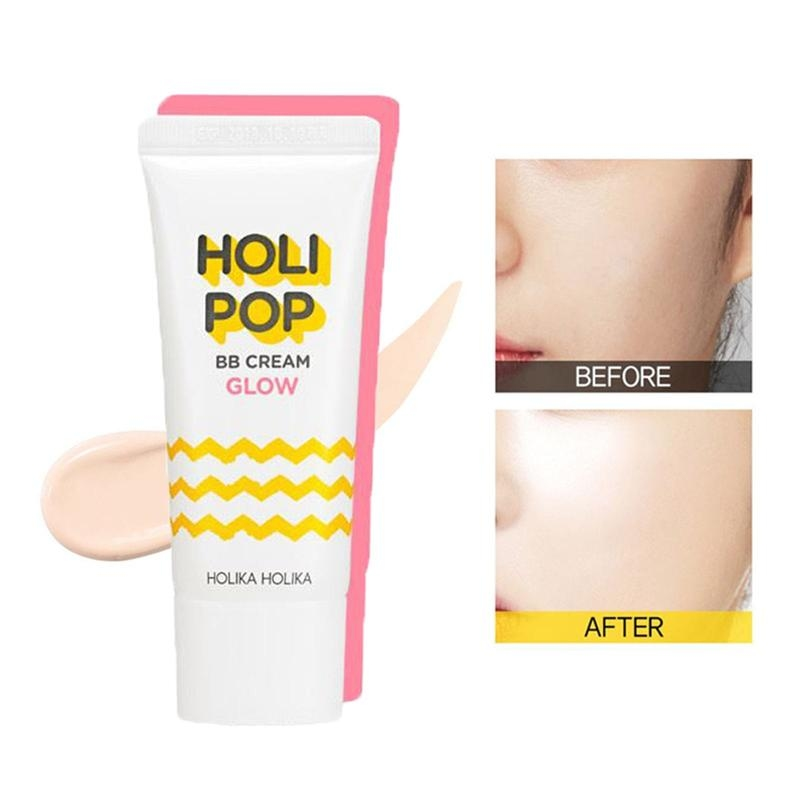 ВВ-крем сияющий для лица Holika Holika Holi Pop BB Cream Glow 30ml 2 - Фото 2