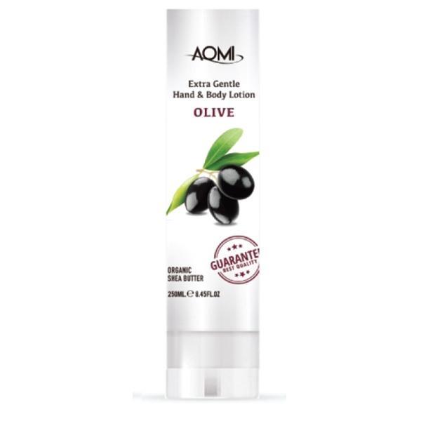 Лосьон для рук и тела увлажняющий с маслом оливы Aomi Extra gentle Hand & Body Lotion - Olive 250 ml 0 - Фото 1