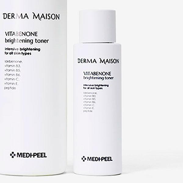 Антивозрастной осветляющий тонер с идебеноном Medi-Peel Derma Maison Vitabenone Brightning Toner 250ml 0 - Фото 1