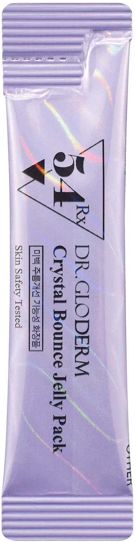 Маска ночная антивозрастная для лица DR.GLODERM  Crystal bounce Jelly Pack  0 - Фото 1