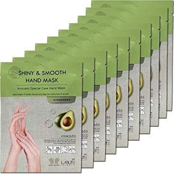 Маска Для Рук Питательная С Экстрактом Авокадо LABUTE Shiny & Smooth Hand Mask 14ml  1 - Фото 2