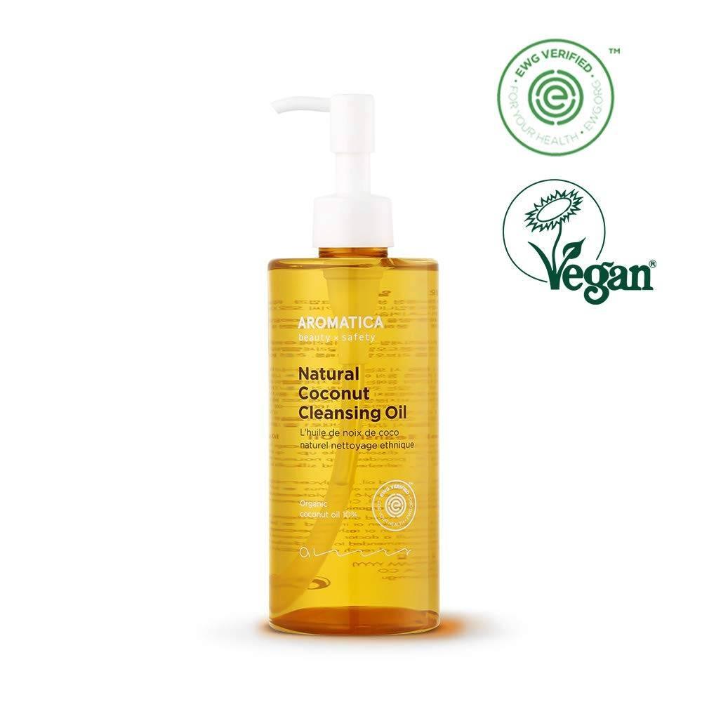 Гидрофильное Масло Натуральное С Экстрактом Пальмового Дерева Aromatica Natural Coconut Cleansing Oil 300ml