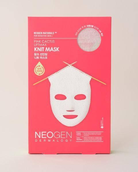Маска Вязаная Омолаживающая С Керамидами Neogen Pink Cactus Liftmax Knit Mask 60ml 1 - Фото 2