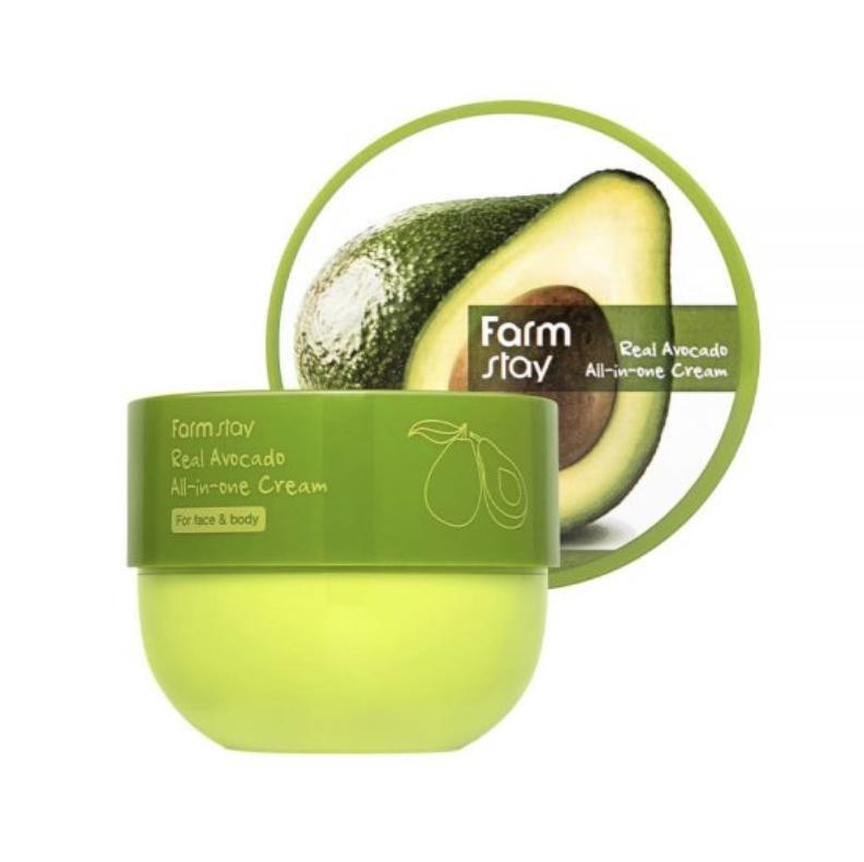 Крем универсальный для лица и тела с авокадо FarmStay Real Avocado All-In-One Cream 300ml 0 - Фото 1