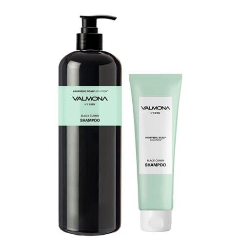 Шампунь для волос с комплексом из целебных трав Valmona Ayurvedic Scalp Solution Black Cumin Shampoo