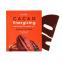Маска гидрогелевая тонизирующая с экстрактом какао для лица PETITFEE Cacao Energizing Hydrogel Face Mask 32g 2 - Фото 2