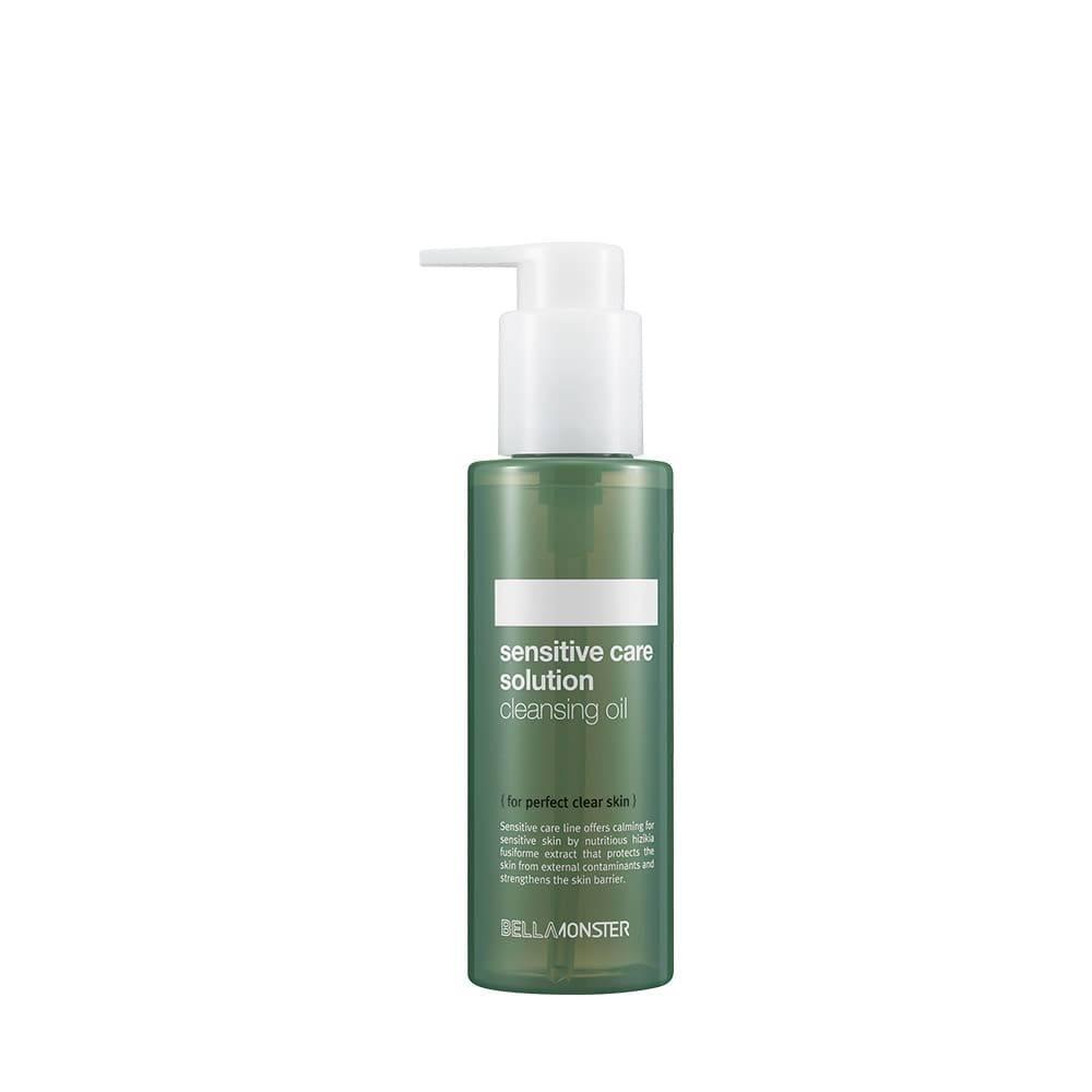 Гидрофильное масло успокаивающее с экстрактом водорослей BellaMonster Sensitive Care Solution Cleansing Oil 120ml