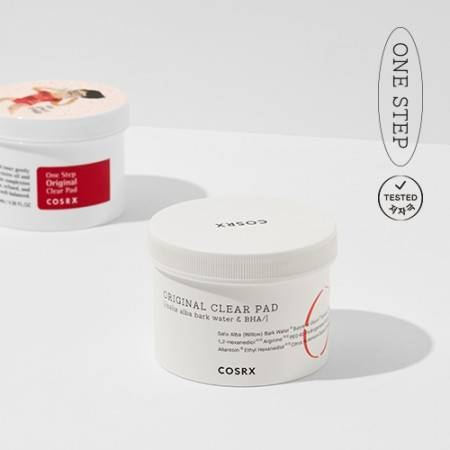 Диски Очищающие С BHA-Кислотой COSRX One Step Pimple Clear Pads Thanks Two Set 70шт
