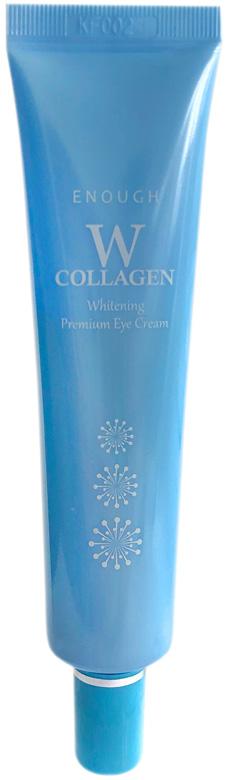 Крем для кожи вокруг глаз осветляющий с коллагеном Enough W Collagen Whitening Premium Eye Cream 30ml