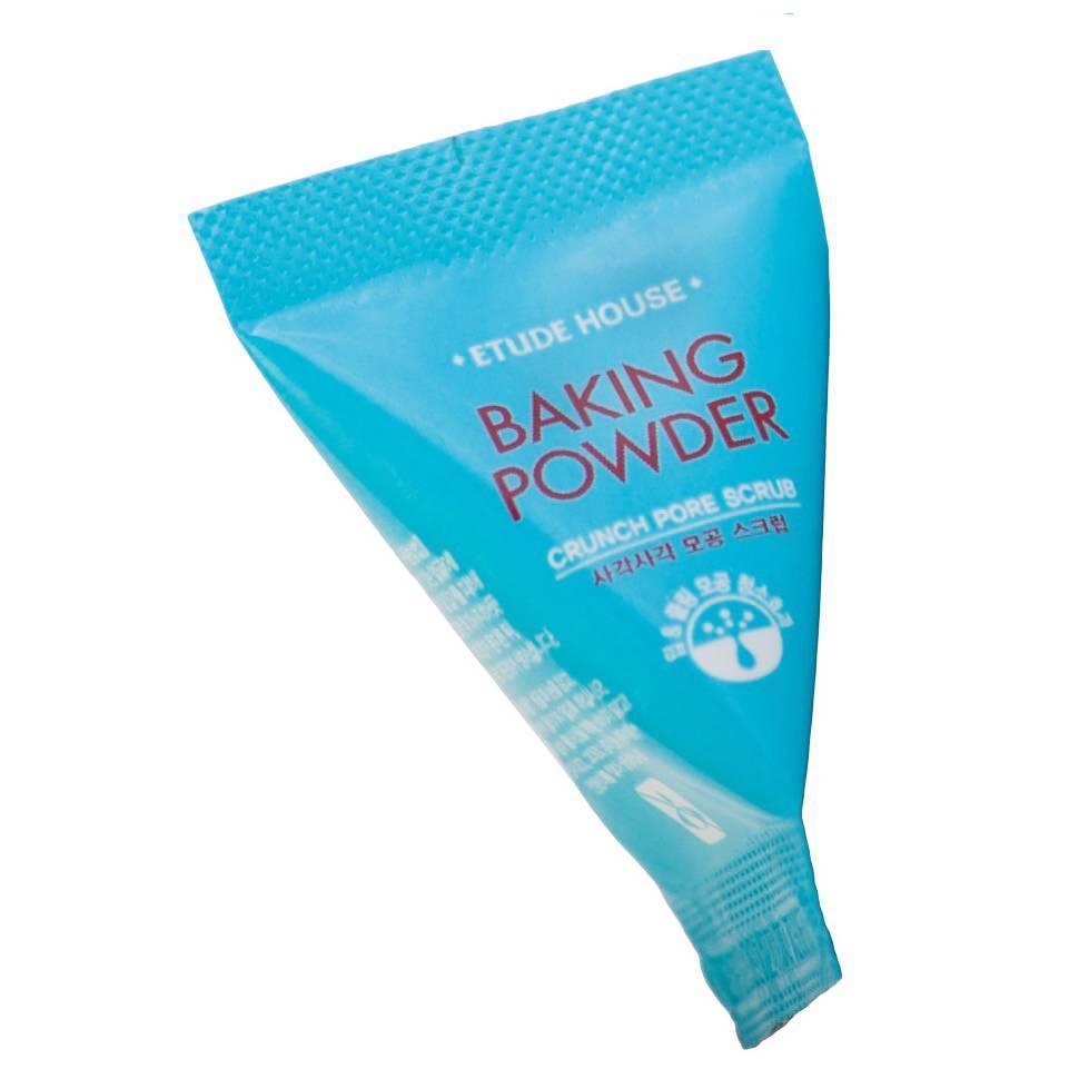 Содовый микропиллинг для лица Etude House Baking Powder Crunch Pore Scrub