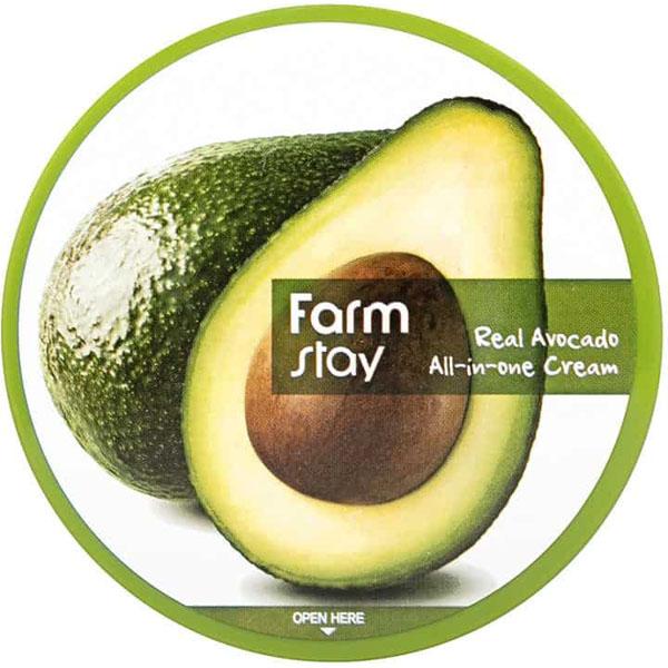 Крем универсальный для лица и тела с авокадо FarmStay Real Avocado All-In-One Cream 300ml