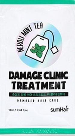 Бальзам для волос с перечной мятой и нероли SUMHAIR Damage Clinic Treatment #Neroli & Mint Tea