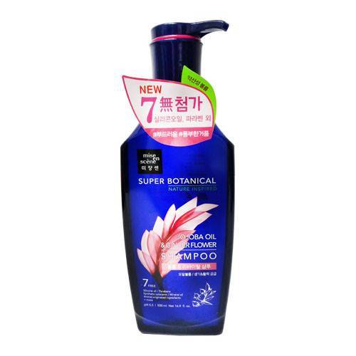Шампунь Восстанавливающий С Маслом Жожоба  Mise En Scene Super Botanical Volume & Revital Shampoo 500ml