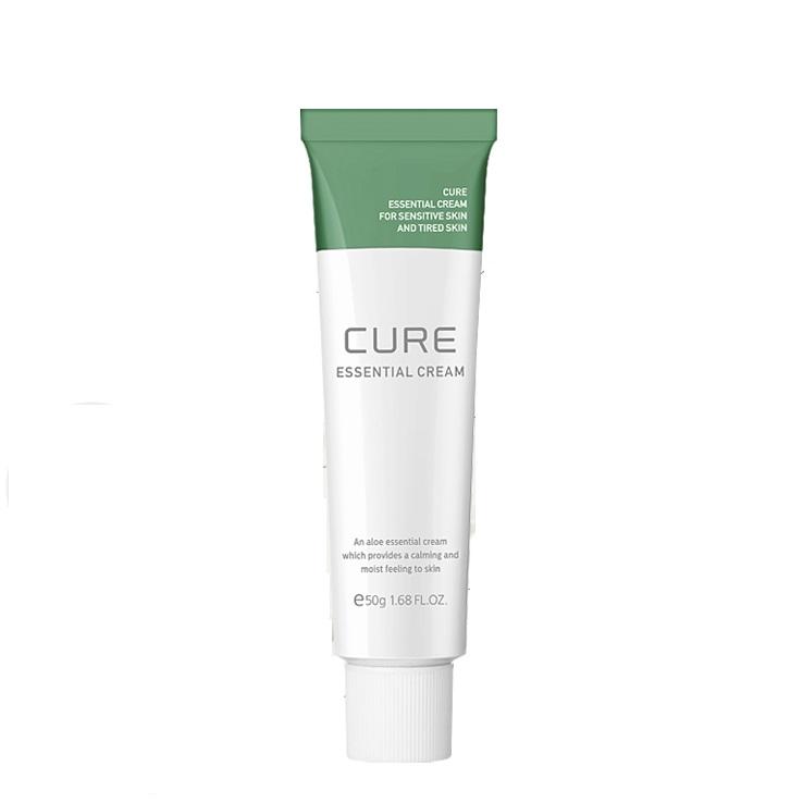 Крем успокаивающий с экстрактом алоэ Kim Jeong Moon Cure Essential Cream 50ml