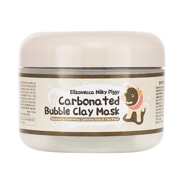 Маска Пузырьковая Для Глубокого Очищения Пор Elizavecca Carbonated Bubble Clay Mask