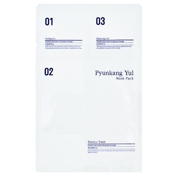 Маска 3х- Этапная Увлажняющая С Салициловой Кислотой Pyunkang Yul 3 Step Mask Pack