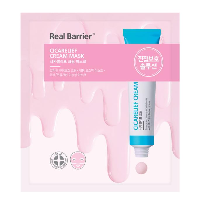 Крем-Маска Тканевая Увлажняющая Real Barrier Cicarelief Cream Mask