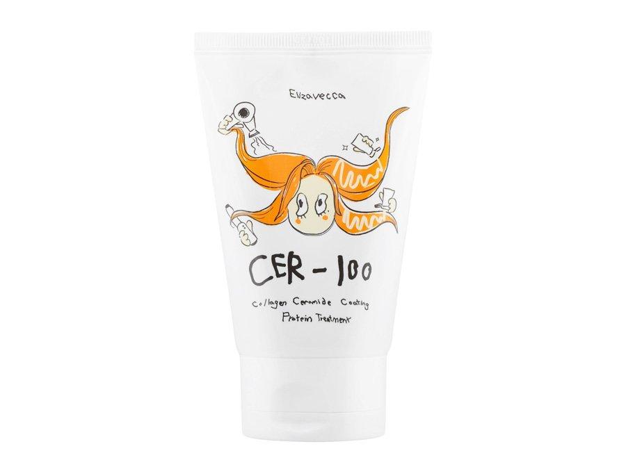 Маска для волос восстанавливающая с коллагеном Elizavecca Milky Piggy Collagen Ceramide Coating Protein Treatment 100ml