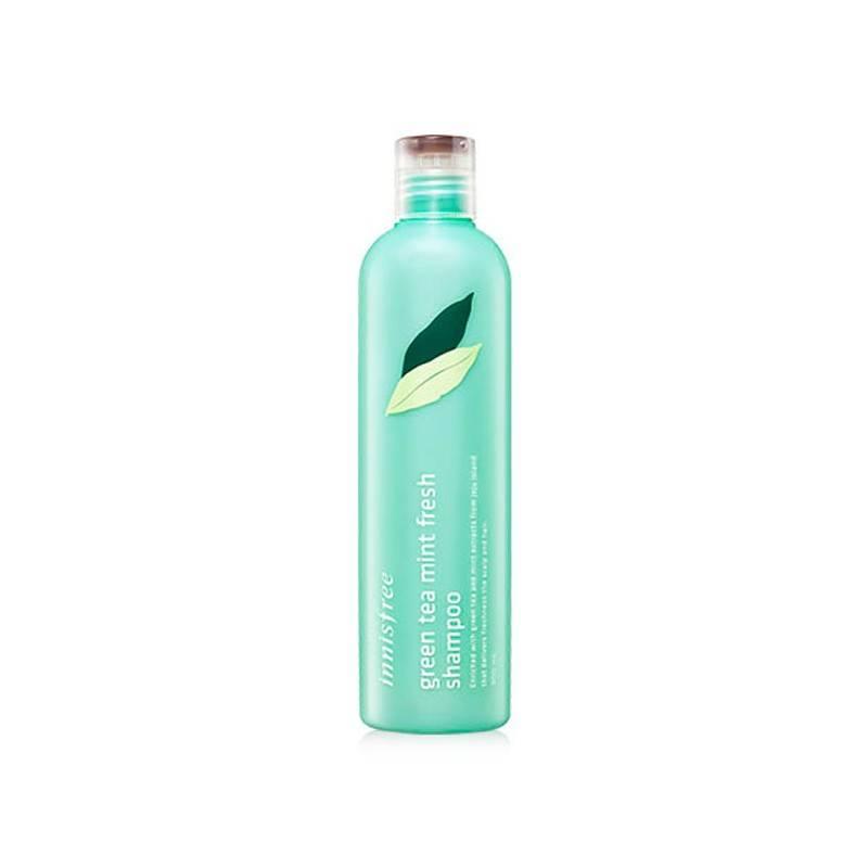 Шампунь освежающий с ментолом Innisfree Green Tea Fresh Shampoo 300ml