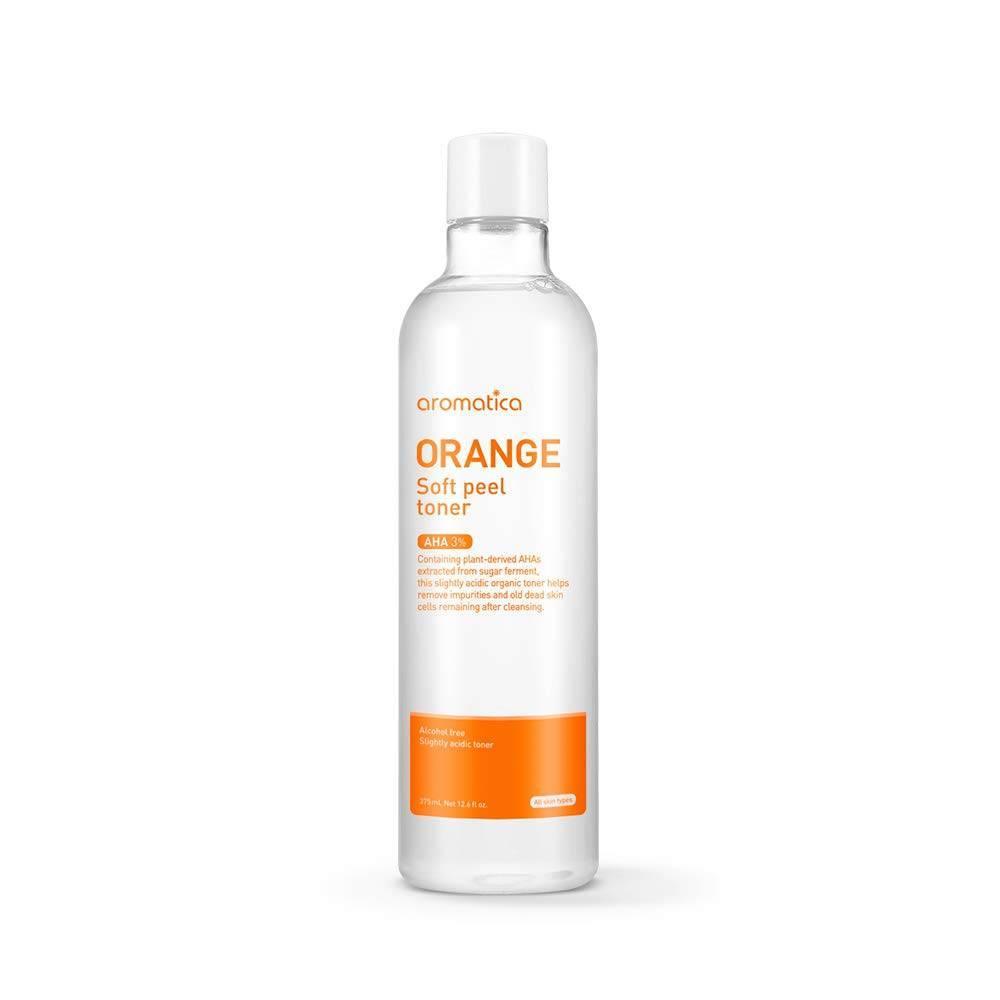Пилинг - Тонер С Экстрактом Апельсина Aromatica Orange Soft Peel Toner