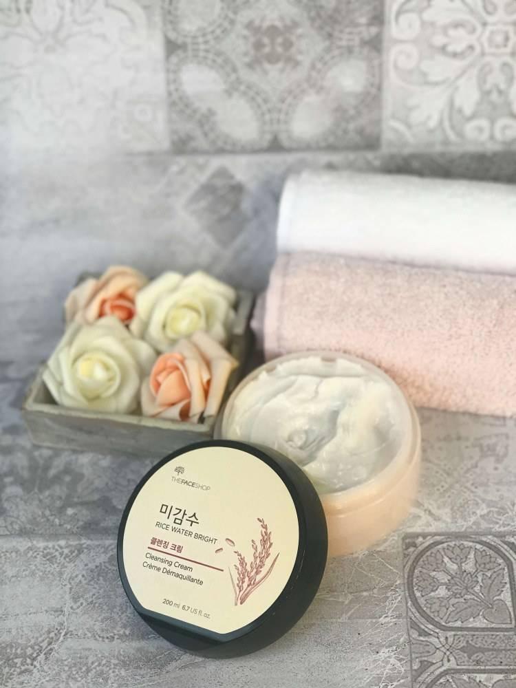 Крем очищающий для умывания и снятия макияжа The Face Shop Rice Water Bright Cleansing Cream 200ml