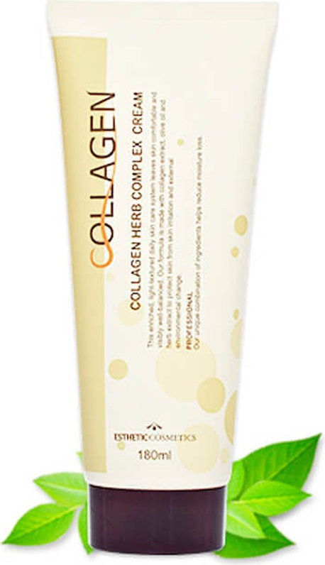 Крем для лица с коллагеном и растительным комплексом Esthetic House Collagen Herb Complex Cream