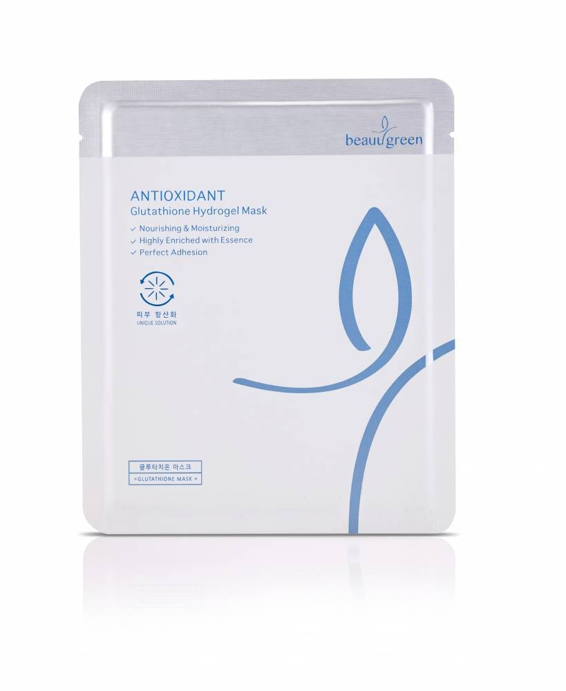 Антиоксидантная Гидрогелевая Маска С Глутатионом Beauugreen Antioxidant Glutathione Hydrogel Mask