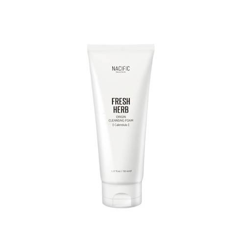 Пена для умывания успокаивающая с экстрактом календулы Nacific Fresh Herb Origin Cleansing Foam 150 ml