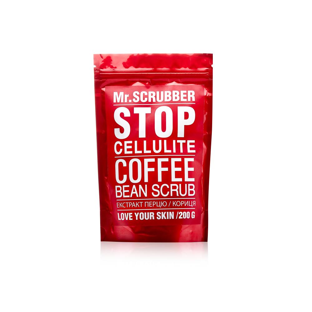Скраб кофейный антицеллюлитный для тела Mr.Scrubber Stop Cellulite 200g