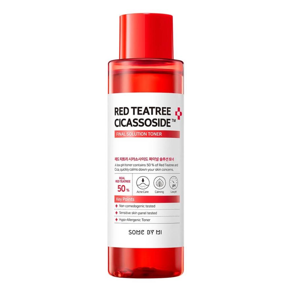 Тонер с экстрактом красного чайного дерева для лица Some By Mi RED TEATREE CICASSOSIDE FINAL SOLUTION TONER 150ml