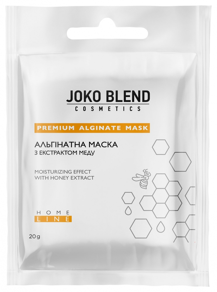 Маска альгинатная с экстрактом мёда для лица Joko Blend Premium Alginate Mask