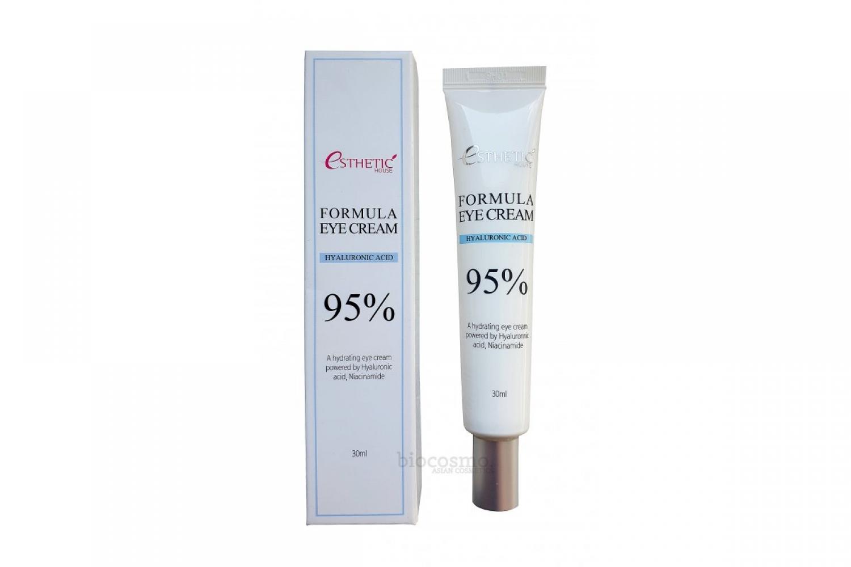 Крем увлажняющий для кожи вокруг глаз с гиалуроновой кислотой и ниацинамидом Esthetic House Formula Eye Cream Hyaluronic Acid 95%, 30ml