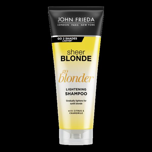 Шампунь для волос осветляющий John Frieda Sheer Blonde Shampoo Go Blonder 250ml