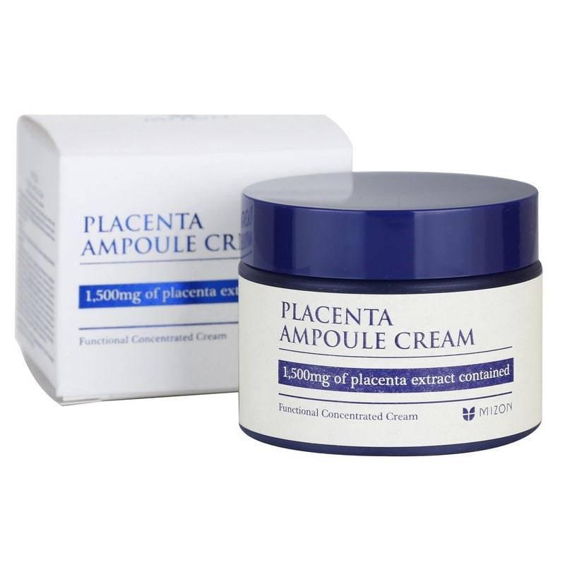 Крем - Ампула Восстанавливающий С Плацентой Mizon Placenta Ampoule Cream 50ml