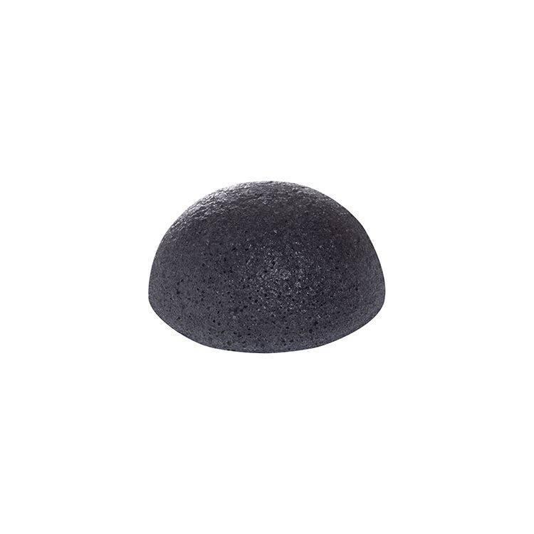 Очищающий Спонж Для Лица С Экстрактом Пепла Бамбука Missha Natural Soft Jelly Cleansing Puff Bamboo Charcoal (Black)