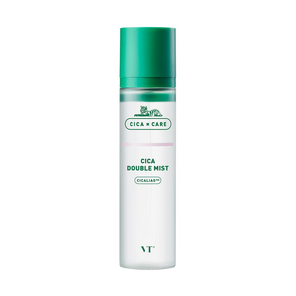 Мист успокаивающий с экстрактом центеллы VT Cosmetics Cica Double Mist 120ml