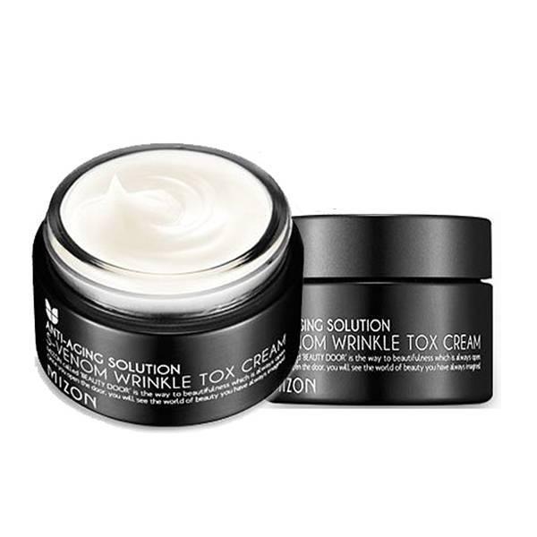 Крем Антивозрастно Со Змеиным Ядом Mizon S-Venom Wrinkle Tox Cream Восстанавливающий