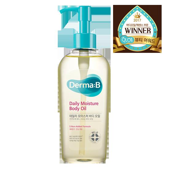 Масло Увлажняющее Для Тела Derma-B Daily Moisture Body Oil