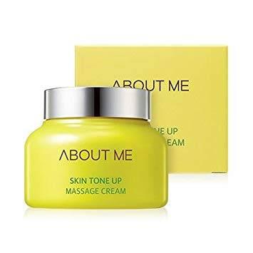Крем Массажный Выравнивание Тона Лица С Экстрактом Киви About Me Skin Tone Up Massage Cream