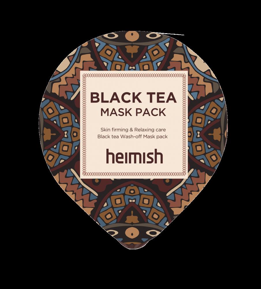 Маска Успокаивающая С Экстрактом Черного Чая Heimish Black Tea Mask Pack 5мл