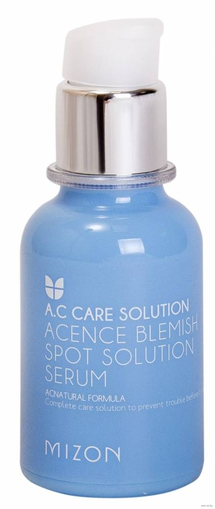 Сыворотка Лечащая С Маслом Хвои Mizon Acence Blemish Spot Solution Serum Для Проблемной Кожи