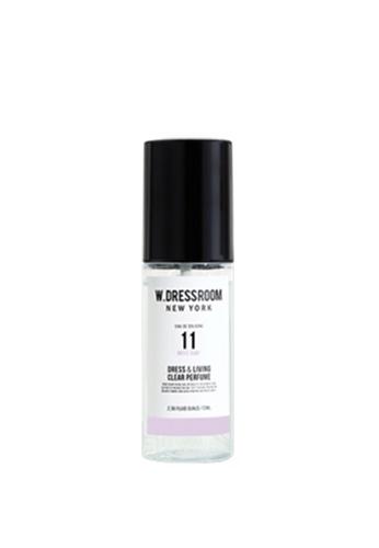 Парфюмированная вода для одежды и дома с ароматом сосны, специй и груши W.Dressroom Dress & Living Clear Perfume No.11 White Soap 70ml