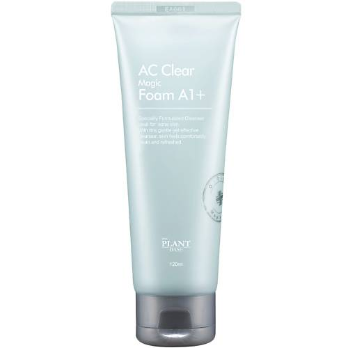 Пенка Очищающая  С Экстрактом Лакрицы  Для Проблемной Кожи The Plant Base AC Clear Magic Foam A1+