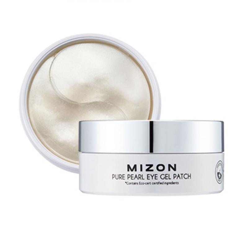 Патчи укрепляющие с экстрактом белого жемчуга Mizon Pure Pearl Eye Gel Patch 60шт