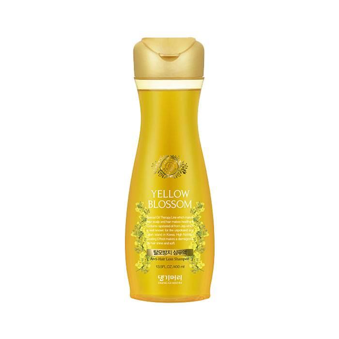 Укрепляющий бессульфатный шампунь против выпадения волос Daeng Gi Meo Ri Yellow Blossom Shampoo 400ml