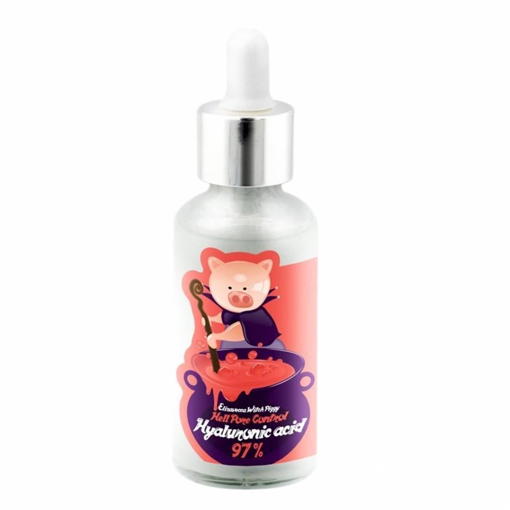 Сыворотка Интенсивное Увлажнение С Гиалуроновой Кислотой Elizavecca Witch Piggy Hell Pore Control Hyaluronic Acid 97% 50ml