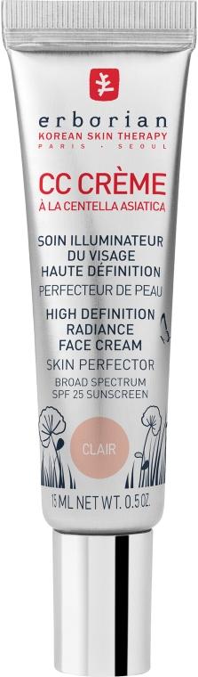 СС-крем светлый с центеллой для лица Erborian CC Cream Radiance Cream Skin Perfector