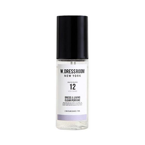 Парфюмированная вода для одежды и дома  W.Dressroom  Dress & Living Clear Perfume No.12 Very Berry 70ml
