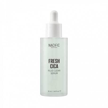 Сыворотка успокаивающая с экстрактом центеллы Nacific Fresh Cica Plus Clear Serum 50ml