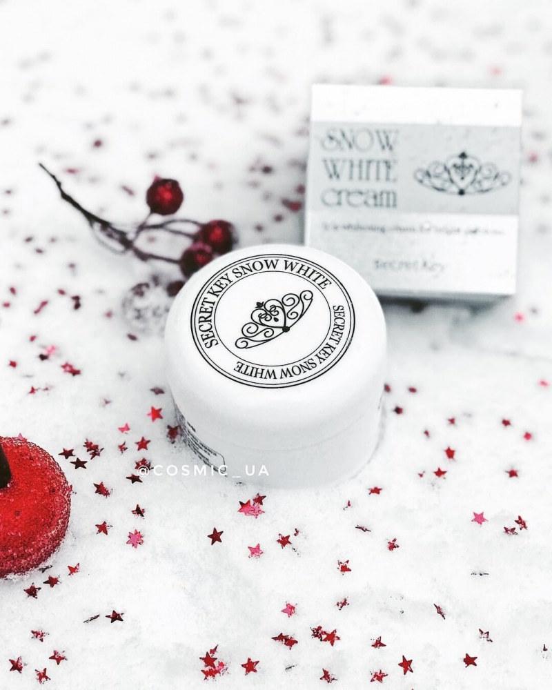 Крем Увлажняющий Выравнивающий Тон Secret Key Snow White Cream 50g
